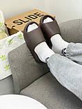 Adidas Yeezy Slide Soot (коричневые), фото 3