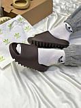 Adidas Yeezy Slide Soot (коричневые), фото 5