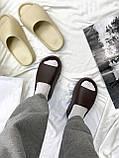 Adidas Yeezy Slide Soot (коричневые), фото 6