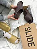 Adidas Yeezy Slide Soot (коричневые), фото 8