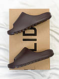 Adidas Yeezy Slide Soot (коричневые), фото 9