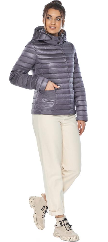 Лавандова куртка жіноча фірмова модель 67510