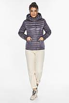Лавандова куртка жіноча фірмова модель 67510, фото 2