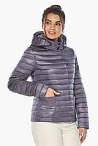 Лавандова куртка жіноча фірмова модель 67510, фото 3