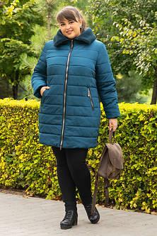 Женские зимние куртки большого размера