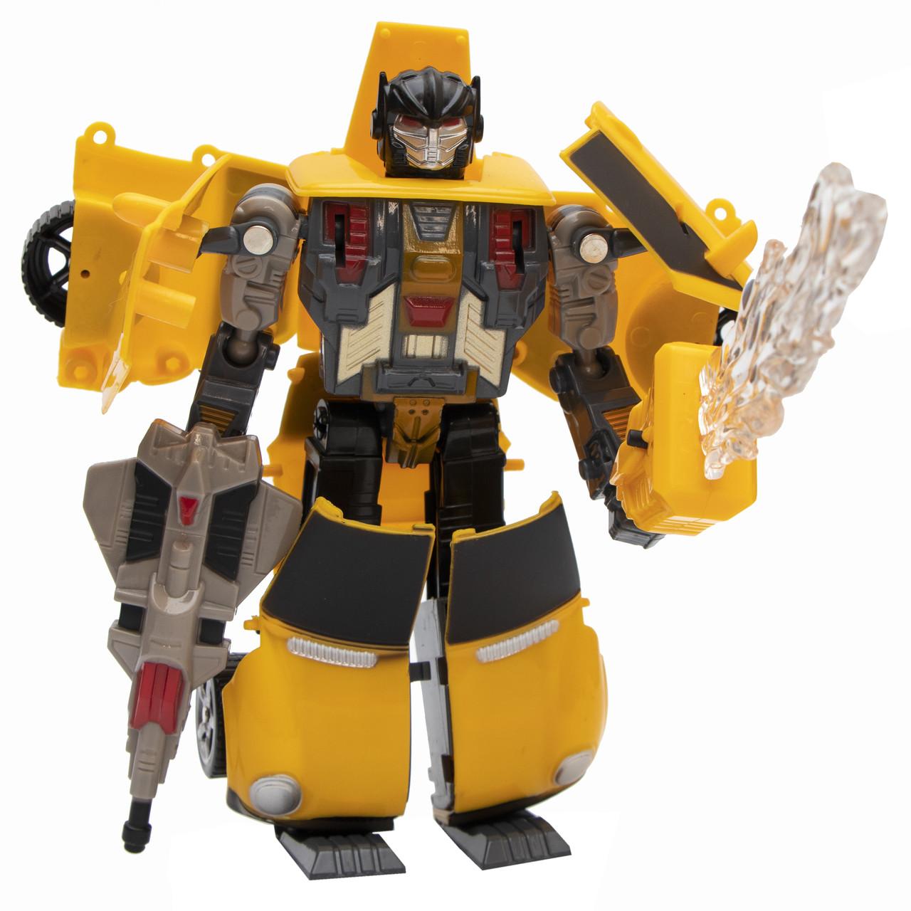 Трансформер-робот, желтый универсал (9391-4)