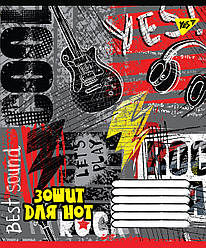 Нотная тетрадь А5/12 Rock star YES