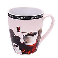 Чашка керамічна глянцева Coffe 340мл (6 штук в наборі), фото 1