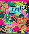 "Тетрадь для записей А5/48 лин. YES ""Fruits color"" крафт, белила, 5 шт/уп., фото 2"
