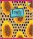 "Тетрадь для записей А5/48 лин. YES ""Fruits color"" крафт, белила, 5 шт/уп., фото 3"