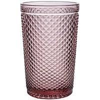 Набор стаканов из цветного стекла Рубин 350мл 6шт 6411
