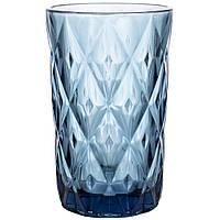 Набор стаканов из цветного стекла Сапфир 350мл 6шт 6401