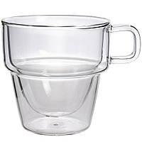 Чашка з подвійними стінками Палермо Helios 350мл 1шт 6762