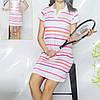 Літнє плаття в спортивному стилі Lindros