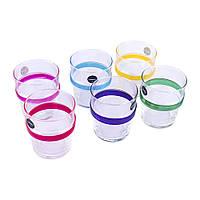 Набір стаканів високих 270мл 6шт Luminarc Acrobate Rainbow N1602, фото 1