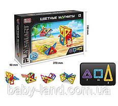 Магнитный конструктор PlaySmart (20 деталей) арт. 2467