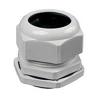 Муфта PG-21 водонепроницаемая MUTLUSAN пластмассовая 010 097 000021 (диаметр проводника 15-18мм)