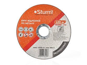 Круг відрізний по металу (125 x 1.0 x 22.23 мм) Sturm 9020-125-10PRO