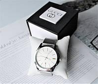 Часы Gucci в коробочке silver