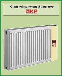 Радиатор стальной КР 22k 500*500 боковое подключение