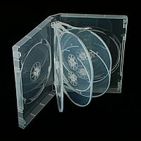 Бокс для 8-dvd дисков 27 мм суперпрозрачный глянцевый (8dvd 27 clear)