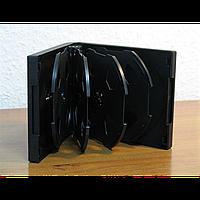 Бокс для 10-dvd/cd черный (10 cd/dvd-black)