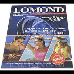 Набор фотобумаги lomond Премиум Промопак А4 12 листов (7702000)