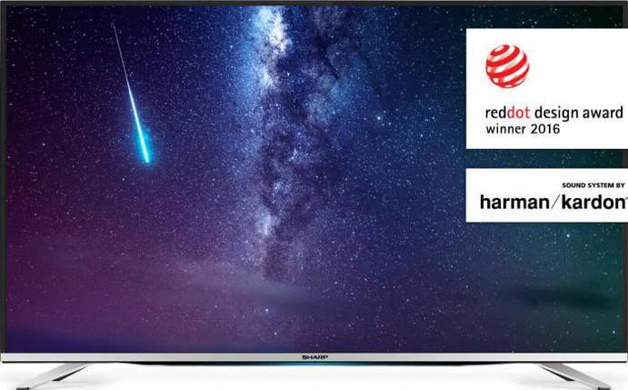 "Телевізор 49"" Sharp LC-49SFE7451E-Smart TV-(B)-Б/У, фото 2"