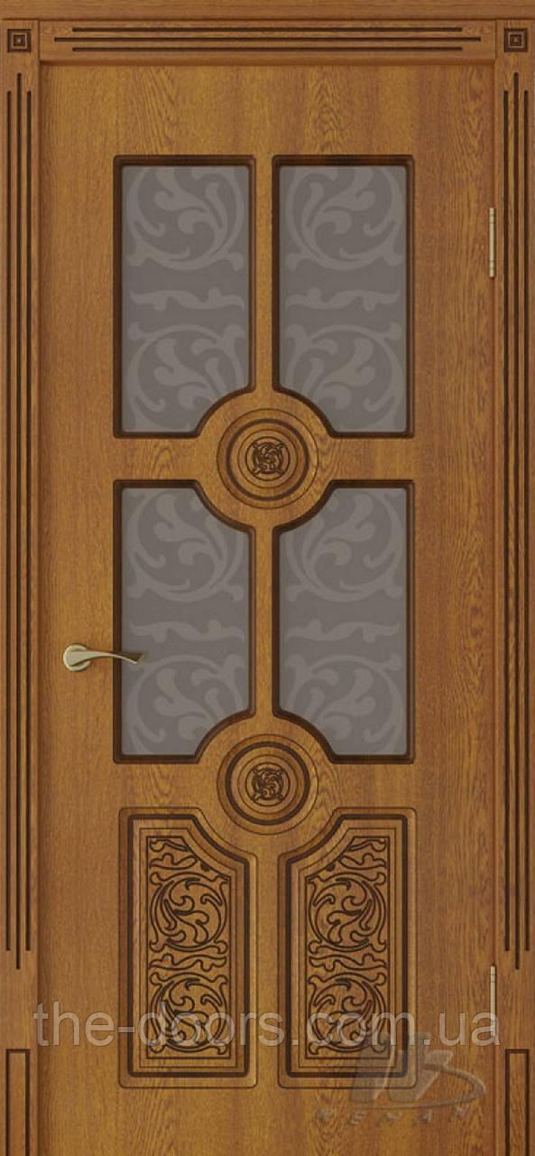 Двери Неман ВИП модель Антарес стекло сатин