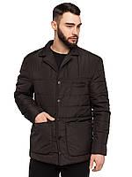 Стильная демисезонная мужская  куртка-пиджак размеры 48-54