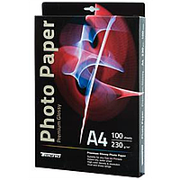 Глянцевая фотобумага tecno premium photo paper cb a4 230g 100 pack glossy (pg 230 a4 cp)