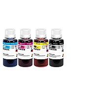Комплект чернил colorway epson l-100/200 series 4х100мл bk/С/m/y (cw-ew101set01)