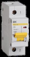 IEK Выключатель автоматический ВА47-100 1P 6А 10кА C, MVA40-1-006-C