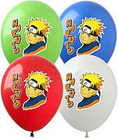 """Латексные воздушные шары Show Naruto 12"""" (30 см) 10 шт"""