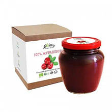 Журавлина органічна паста  550г ТМ LiQberry