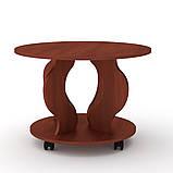 Журнальний стіл Ринг на коліщатках, фото 3
