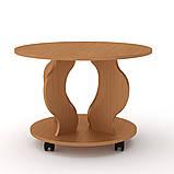 Журнальний стіл Ринг на коліщатках, фото 2