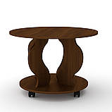 Журнальний стіл Ринг на коліщатках, фото 4