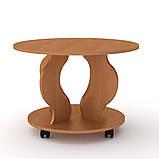 Журнальний стіл Ринг на коліщатках, фото 7