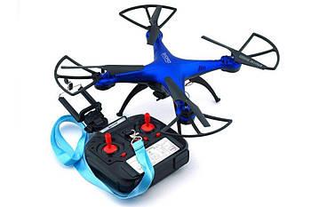 Квадрокоптер 1milion WIFI (переворот на 360гр. , Время полета: до 10 минут) Синий