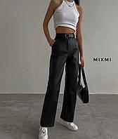 Жіночі стильні брюки з еко-шкіри Норма