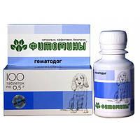 Veda Фитомины ГематоДог- для профилактики недостаточности железа у собак, 100таб