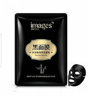 Тканевая маска для лица Images Black Mask beauty SPA