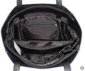 Жіноча сумка-шоппер Україна 518 чорна, фото 3