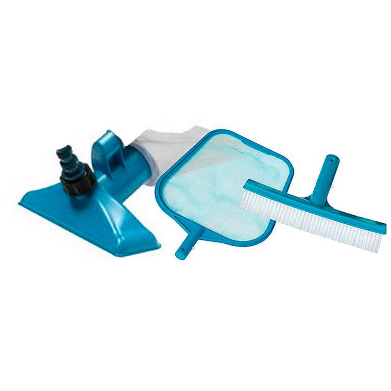 Стандартный набор насадок для ухода за дном и стенками бассейна Intex 29056 (диаметр 26.2 мм)
