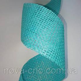 Флористична сітка натуральна 50 мм, 2 м Колір блакитний