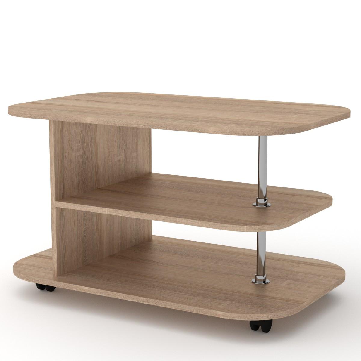 Журнальный стол Танго на колёсиках