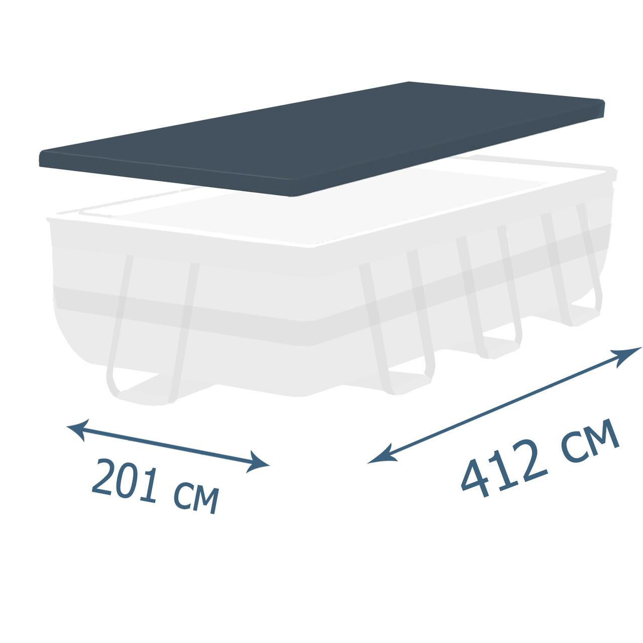 Тент - чехол для каркасного бассейна Bestway 58232, 412 х 201 см