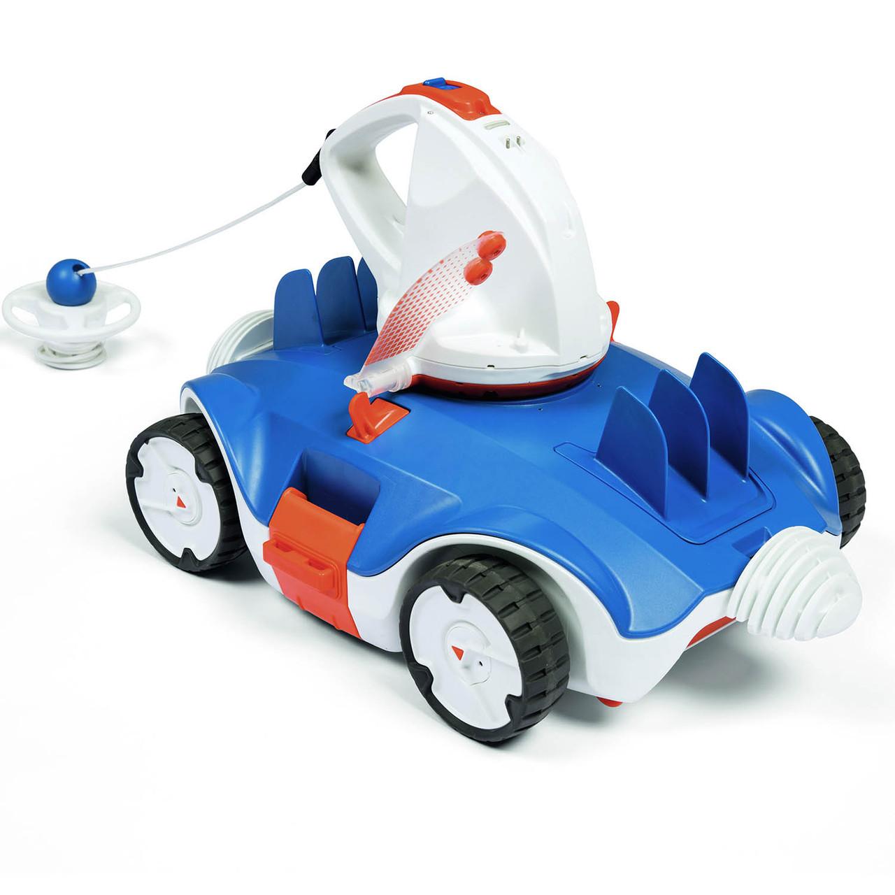 Автоматичний бездротовий робот - пилосос для басейну Bestway 58482, швидкість переміщення 1 000 м/год
