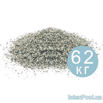 Кварцевый песок для песочных фильтров 79995 62 кг, очищенный, фракция 0.8 - 1.2, фото 2